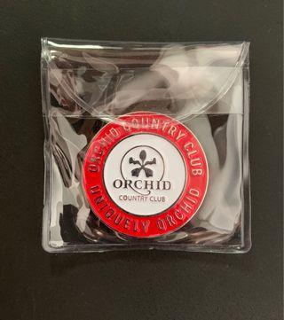 🚚 Orchid Country Club Golf Ball Marker