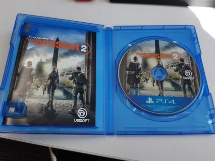 Kaset ps 4 The Division 2
