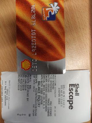 Shell Escape Cards worth $273
