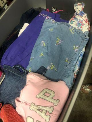 Bags and bags full of beautiful girl clothes from baby - 5T please email for further info. Ava27@live.ca