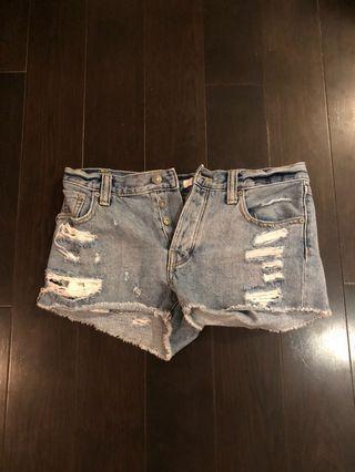 Talula denim shorts