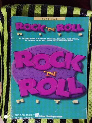 Rock & roll saxophone book