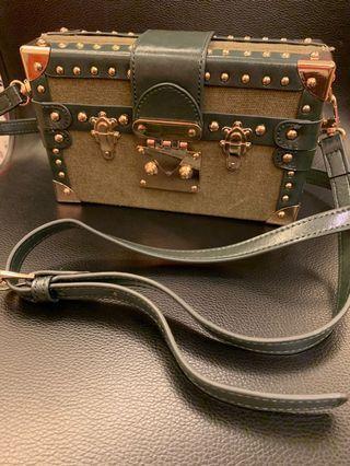 Readymade Nano Trunk Case Crossbody Bag (釆用Vintage美國軍用料手工製袋)
