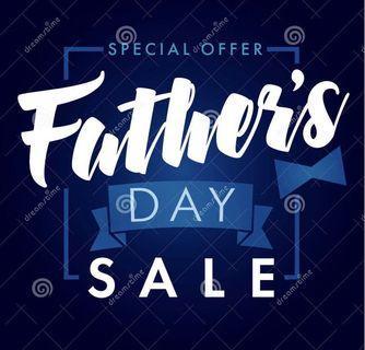 2019 Father's Day Promotion Car Fans Vouchers