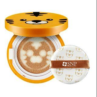 Authentic SNP Tiger Compact Cushion Beige 02
