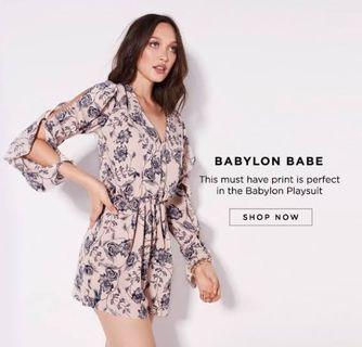SELLING: Sheike Babylon Playsuit