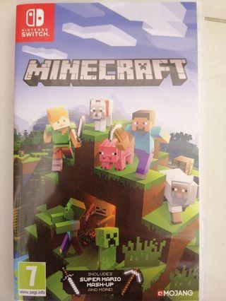 🚚 Minecraft nitendo switch edition