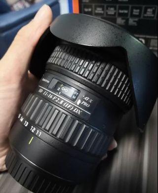 Tokina 11-16mm f2.8 (canon)