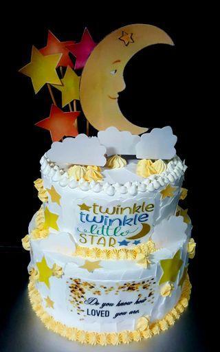 🚚 Twinkle twinkle cake
