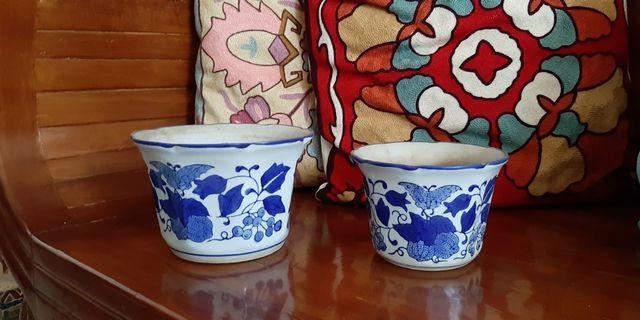 pot pajangan antik kramik