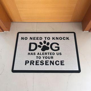 Funny Dog Doormat