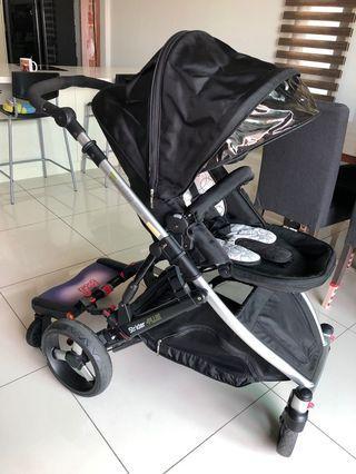 Steelcraft Strider Plus 4 stroller