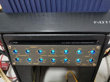 Tru Technology F2 6way/12channel  high-end Crossover