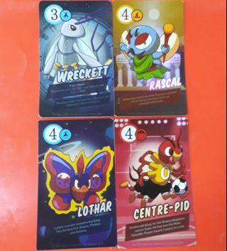 1@$0.40 Book bugs 2 shiny cards
