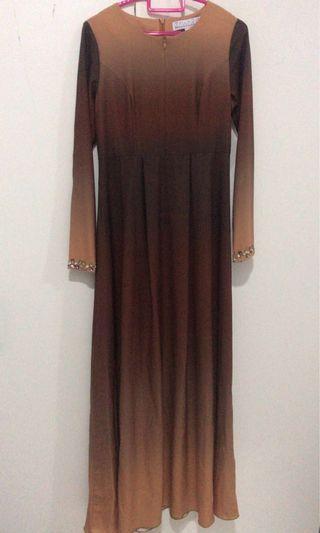 Zawara Brown Dress