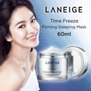 韓國🇰🇷🌸Laneige🌸凝止時空緊緻💦睡眠面膜 ~60ml (Time Freeze Firming Sleeping Mask)