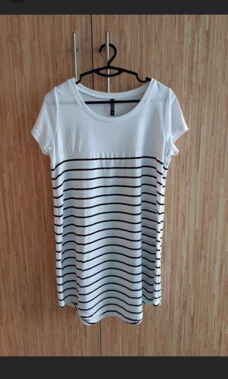 🚚 Cotton On Striped T Shirt Dress