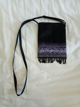 Purple purse from Aceh