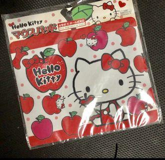 ONLY $8 HELLO KITTY BIG APPLE RED MOUSE PAD FREE MAIL SALES CLEARANCE FLEA