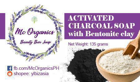 Activated charcoal Soap with Bentonite Clay