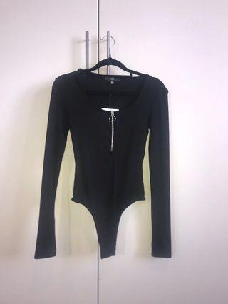 Zip Up Bodysuit