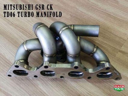 MITSUBISHI GSR CK TD06 TURBO MANIFOLD