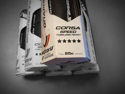 Vittoria Corsa Speed Tubeless Graphene 2.0