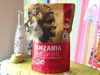 TANZANIA ORGANIC COFFEE 2 lb. 坦桑尼亞 有機黑咖啡豆 2磅裝