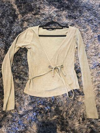 Cross Over Knit