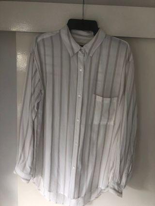 Decjuba Stripe Shirt Size 12