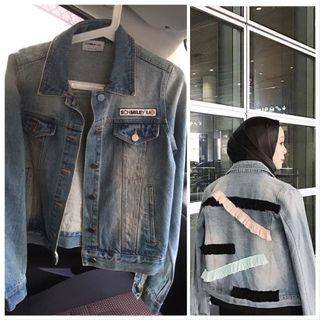 Schmiley Mo Denim Jacket