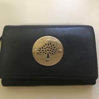 Mulberry learher wallet