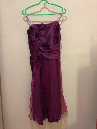 Purple Party Dress (2)