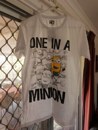 One in a minion tshirt despicable me 2 movie
