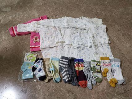34pc infant clothes 0-6m