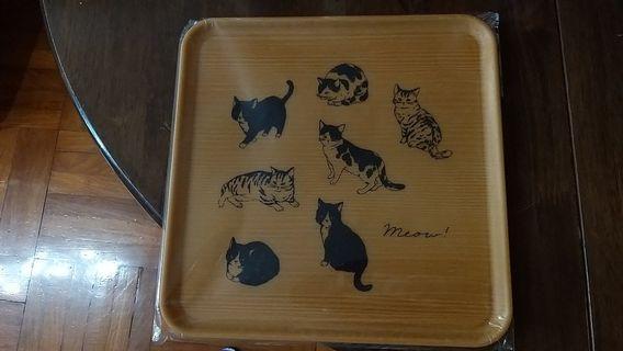 日本製 貓咪盤