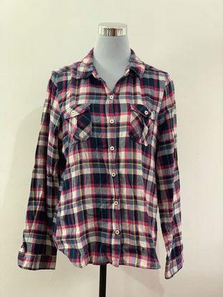 FOREVER 21 // Flannel top