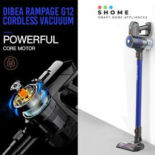 FREE DELIVERY | DIBEA Rampage G12 Cordless Vacuum Cleaner
