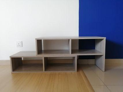 [RAYA COMBO]Two Way Extended TV Cabinet with Display Cabinet