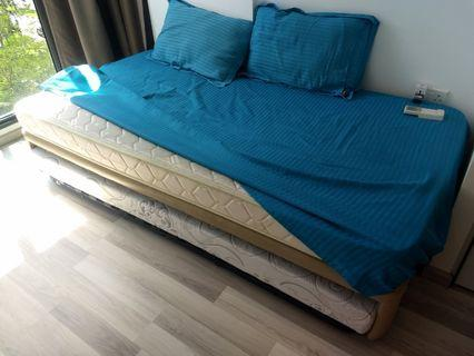 🚚 Pullout Bed with Quality Mattresses