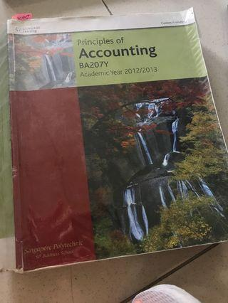 Principles of accounting Singapore Polytechnic SP Business School