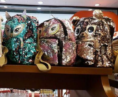 Backpack sequin