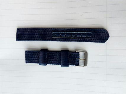 Naylon strap blue watches 18mm...20mm