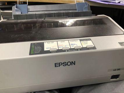 Epson printer LQ-310 Dot Matrix