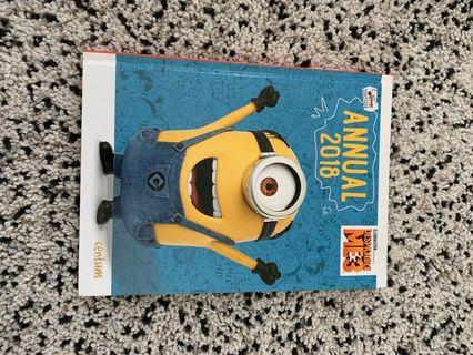 Buku Cerita anak import- annual 2018 despicable me 3