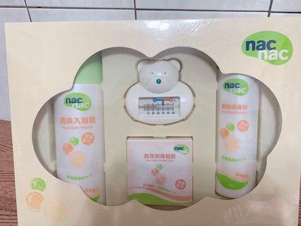 🚚 嬰幼兒Mac Mac珍珠酵素沐浴禮盒(即期品出清)