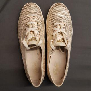 Keds - Ch Shimmer Dot Champagne (Size 8 US)