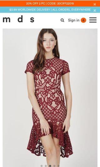 MDS Premium lace dress