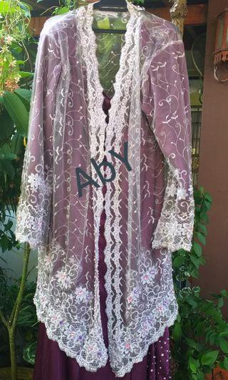 Pre Loved Kebaya Lace with Long Skirt Super Cheap