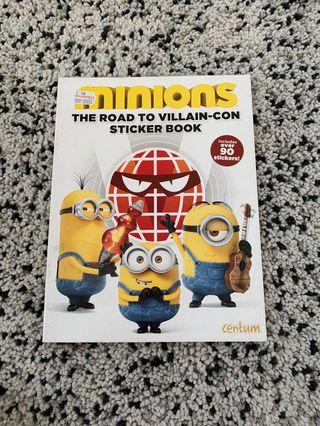 Minions- children book Sticker book